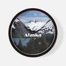 Funny Alaska Wall Clock