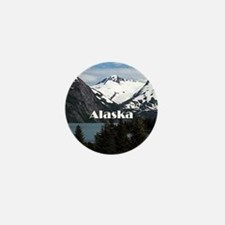 Cool Alaska Mini Button