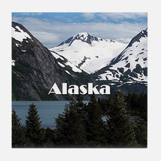 Cute Anchorage Tile Coaster