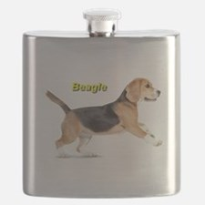 Unique Beagle Flask