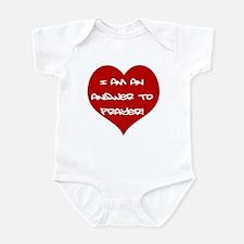 Answer to Prayer Infant Bodysuit