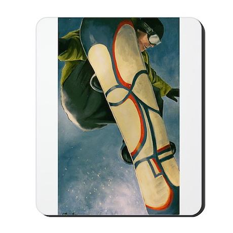 Snowboarder Winter Mousepad