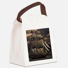 Unique The pirate king ship sail Canvas Lunch Bag