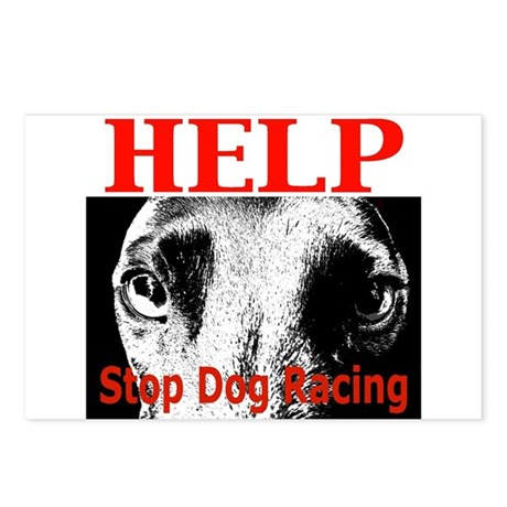 Anti Greyhound Racing Postcards (Package of 8)