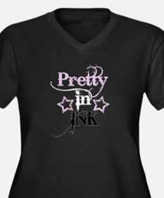 pretty_in_ink_dead_bang_pink.psd Plus Size T-Shirt