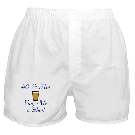 40 & Hot Boxer Shorts