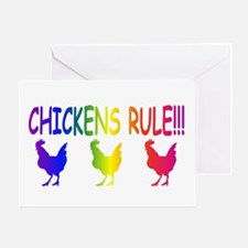 Chickens Rule Greeting Card