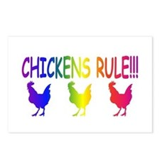 Chickens Rule Postcards (Package of 8)