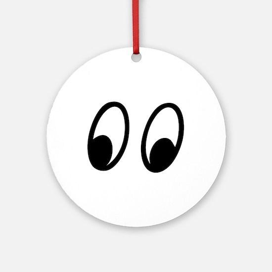 Moon Eyes Ornament (Round)