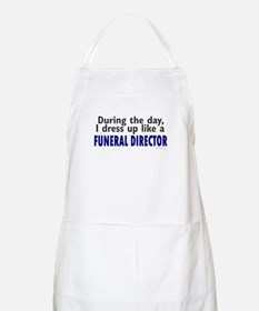 Dress Up Like A Funeral Director BBQ Apron