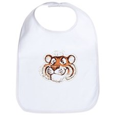 Tiger Smile Bib