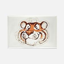 Tiger Smile Rectangle Magnet