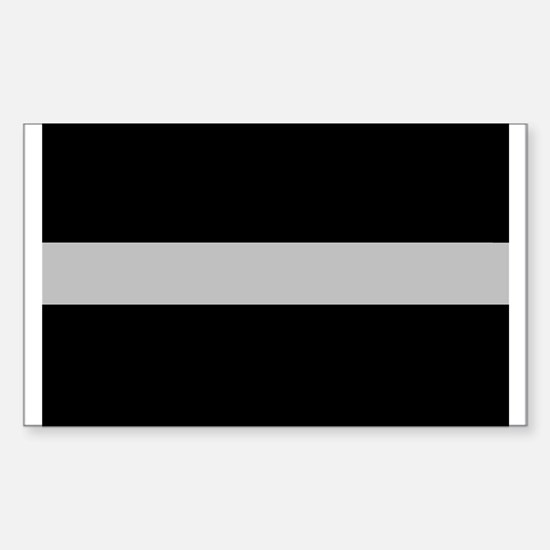 Corrections Thin Silver Line Decal