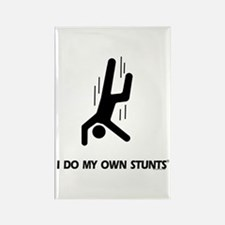 Falling Down, Do My Own Stunts Rectangle Magnet