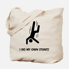 Falling Down, Do My Own Stunts Tote Bag