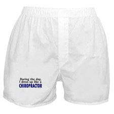 Dress Up Like A Chiropractor Boxer Shorts
