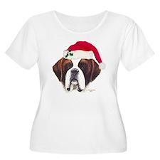 St. Bernard Christmas T-Shirt