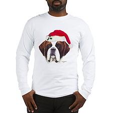 St. Bernard Christmas Long Sleeve T-Shirt