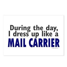 Dress Up Like A Mail Carrier Postcards (Package of