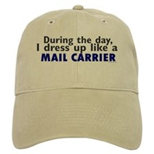Dress Up Like A Mail Carrier Baseball Cap