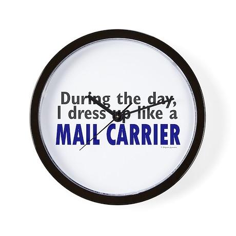Dress Up Like A Mail Carrier Wall Clock