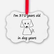 53 Dog Years 6-2 Ornament