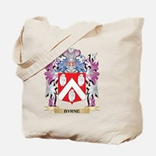 Cute Byrne family crest Tote Bag