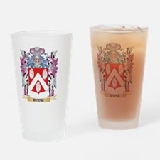 Byrne Coat of Arms (Family Crest) Drinking Glass