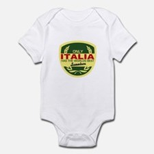 Italia Scooter Infant Bodysuit