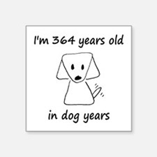 52 Dog Years 6-2 Sticker