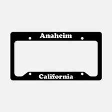 Anaheim CA License Plate Holder