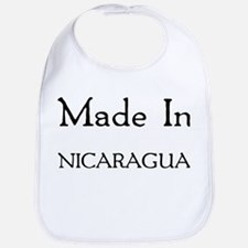 Made In Nicaragua Bib