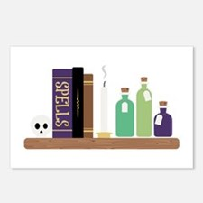 Spell Books Postcards (Package of 8)