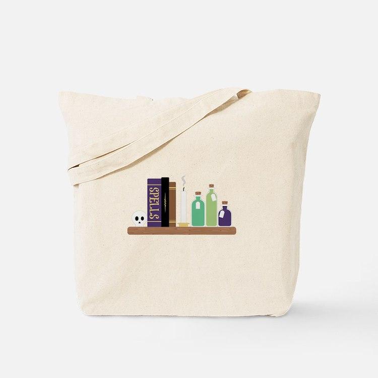 Spell Books Tote Bag