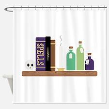 Spell Books Shower Curtain