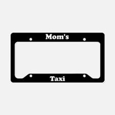Moms Taxi License Plate Holder
