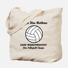 Custom Volleyball Player Name | Team | Ye Tote Bag