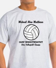 Volleyball camp t shirts cafepress for Volleyball custom t shirts