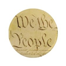 """We the People II 3.5"""" Button"""