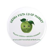 """Sierra Vista Co-op Market 3.5"""" Button"""
