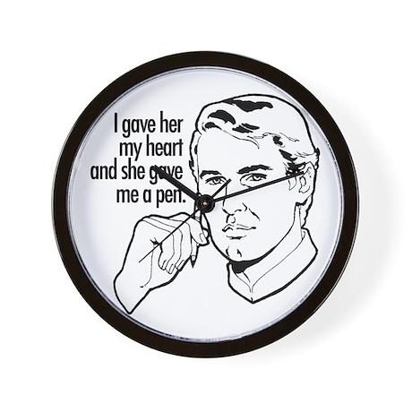 I gave her my heart... Wall Clock