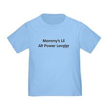 Mommy's Lil Alt Power Leveler T