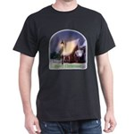 Snowy Cabin Dark T-Shirt