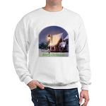 Snowy Cabin Sweatshirt