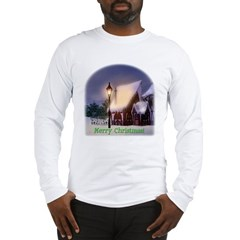 Snowy Cabin Long Sleeve T-Shirt