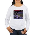 Santa's Coming! Women's Long Sleeve T-Shirt