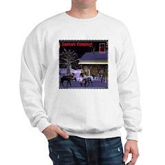 Santa's Coming! Sweatshirt