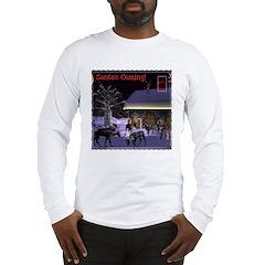 Santa's Coming! Long Sleeve T-Shirt