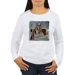 Mr 'N Mrs Claus Women's Long Sleeve T-Shirt