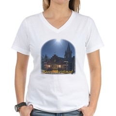 Midnight Services Women's V-Neck T-Shirt